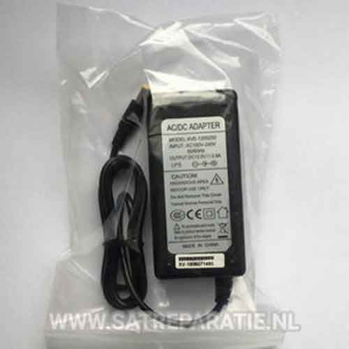 AC adapter XVE-1200250, 12V 2,5A