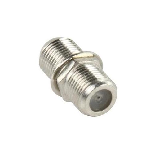 F-connector koppeling, prijs per 10 stuks €0,30
