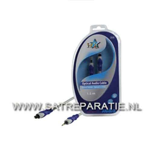Standaard optische toslink - optische 3.5mm kabel 2,50 m