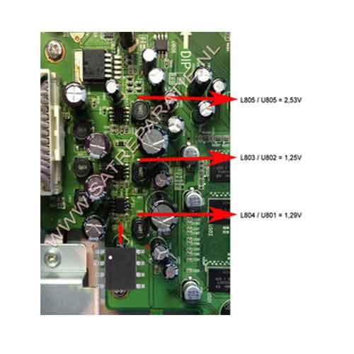 Reparatie Kit VU+ DUO voor professionals met reparatie handleidingen