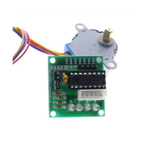 5 v 4-Fase Stappenmotor Stappenmotor + Driver Board ULN2003 met drive Test module, 2 stuks