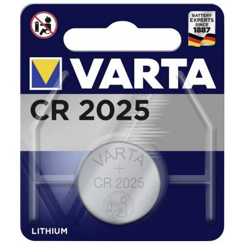 Varta CR2025 lithium knoopcelbatterij