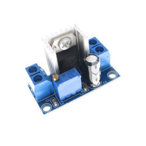 LM317 module DC-DC DC Converter Buck Printplaat verstelbare lineaire regulator