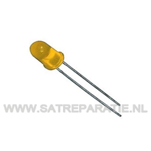 3mm Geel Led, zakje van 10 stuks