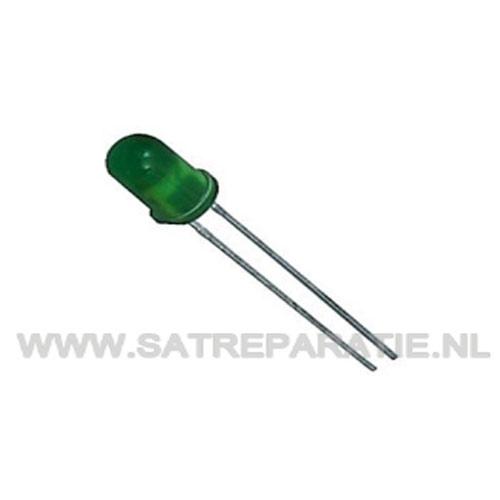 GREEN LED 5mm, zakje van 10 stuks