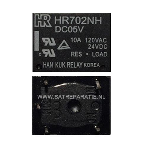 Relais HR702NH 5V 10A