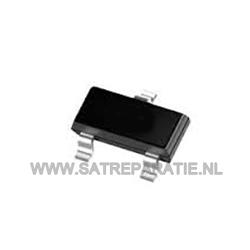 BCW67A, PNP, SMD Transistor, SOT-23