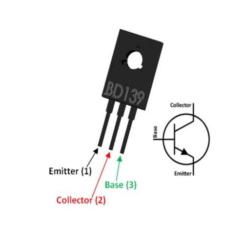 BD139 NPN Transistor, 3 A, 80 V, 3-Pin SOT-32