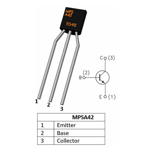 MPSA42 NPN Transistor