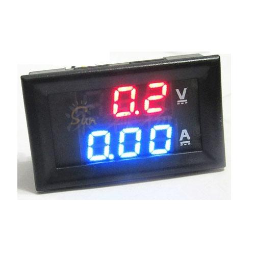 LED Digitale Voltmeter Amperemeter 10A