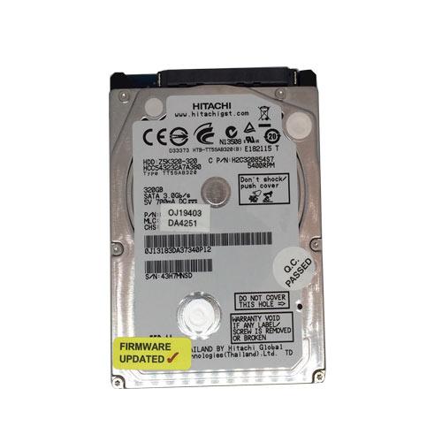 Gebruikte Hitachi 320GB 2.5 inch SATA