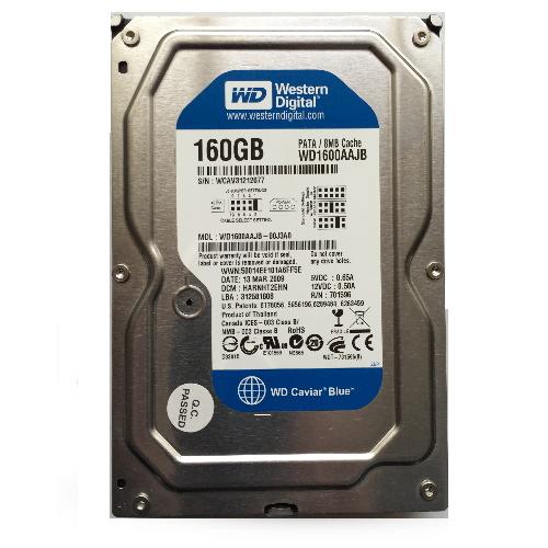 Gebruikte WD 160GB 3.5 inch Blue IDD