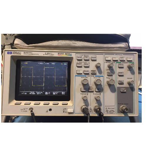Gebruikte 54616C 2 GSa/s 500 MHz 2 Channel Color Oscilloscope