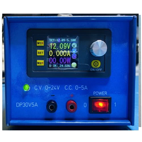 Gebruikte Digitale labvoeding 24V 5A