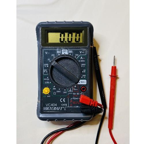 Gebruikte Voltcraft Digitale LCD Multimeter